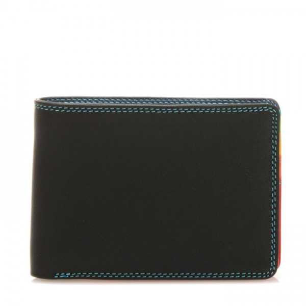 Jeans Wallet with Inner Leaf Black Pace