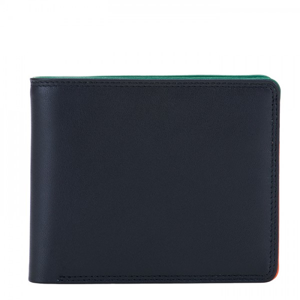 RFID Standard Men's Wallet with Coin Pocket Nappa Burano