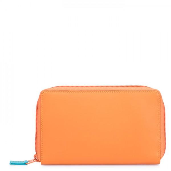 Portafoglio con zip su tre lati con tasca per telefono Copacabana