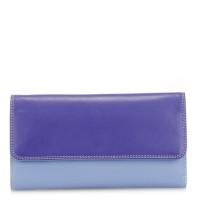 Tri-fold Zip Wallet Lavender