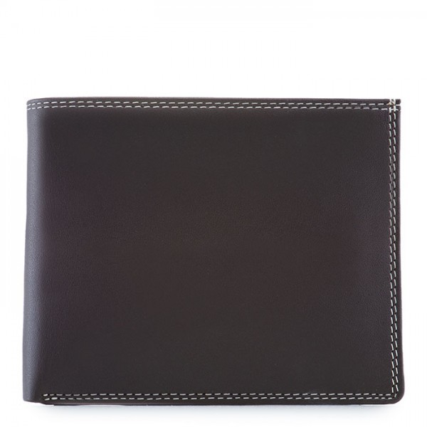 Large Men's Wallet w/Britelite Mocha