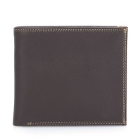 Classic Wallet w/Zip Section Safari Multi