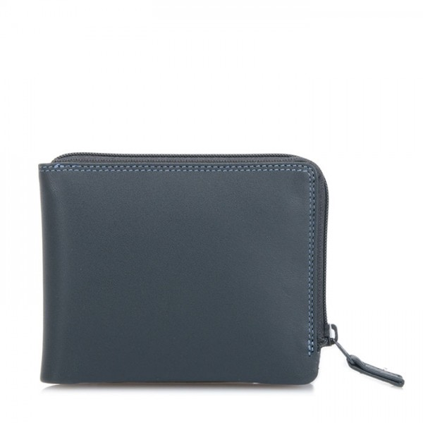 Zip Around Men's Wallet Smokey Grey