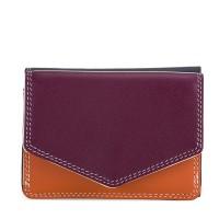 Tri-fold Leather Wallet Chianti