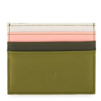 Double Sided Credit Card Holder Olive