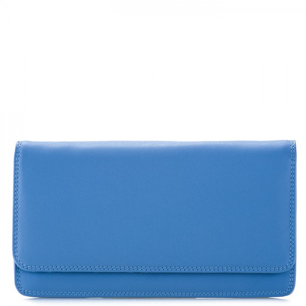RFID Medium Matinee Wallet River Blue