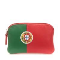 Portamonete con bandiera Portogallo