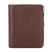 Medium Zip Wallet Cacao