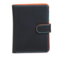 Large Snap Wallet Black Pace