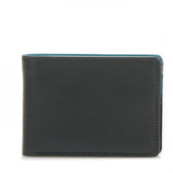 Jeans Wallet with Inner Leaf Smokey Grey