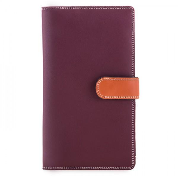 Large Tab Tri-fold Wallet Chianti