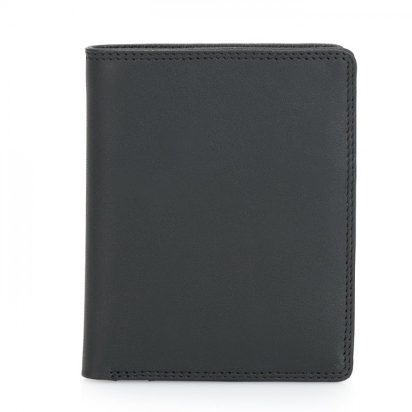 Medium Slim Wallet Black