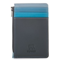 Credit Card Holder with Coin Purse Smokey Grey