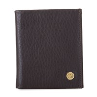 Men's Compact Wallet Brown
