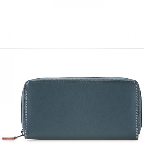 Zip Around Purse Urban Sky