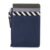 Venice CC Holder with Coin Purse Navy