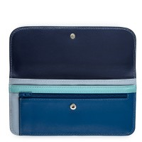 Simple Flapover Purse/Wallet Denim