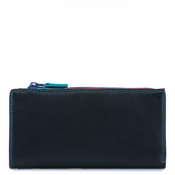 12 CC Zip Wallet Black Pace