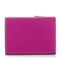 Small Tri-fold Wallet Sangria Multi