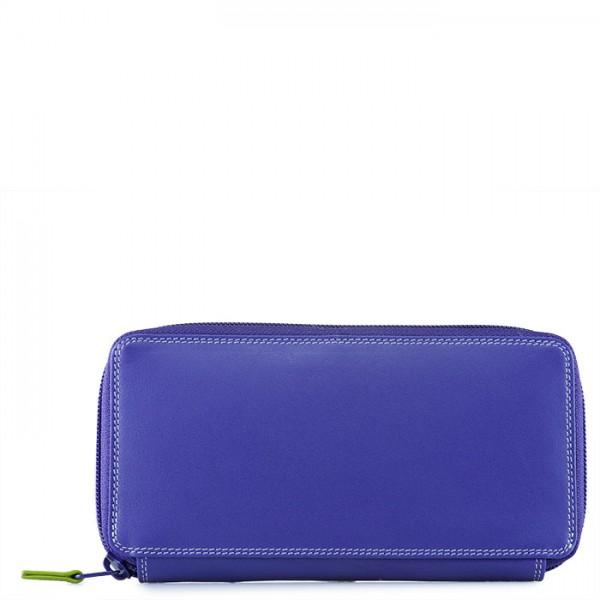 Large Zip Around Purse Lavender