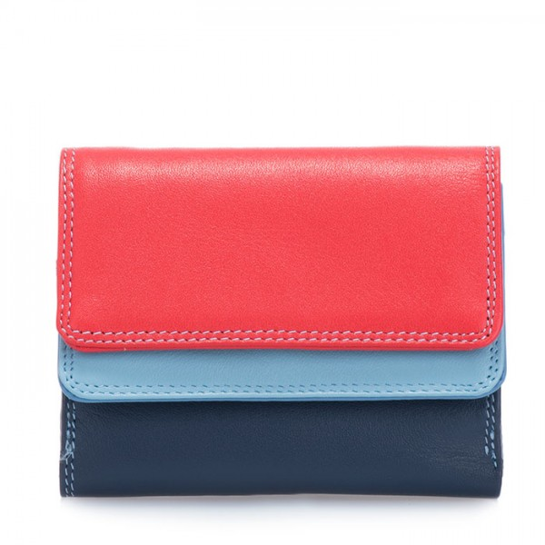 Small Double Flap Wallet Royal