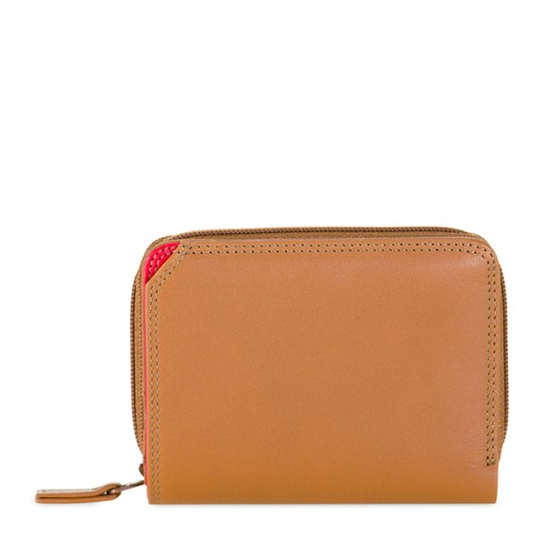 Small Zip Wallet Caramel