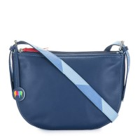 Riga Half Moon Bag Blue