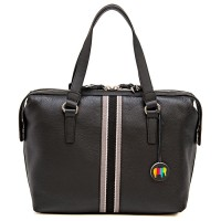 San Diego Barrel Bag Black