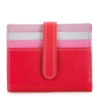Small Tab Card Wallet Ruby