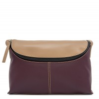 Catania Medium Cross Body Maroon