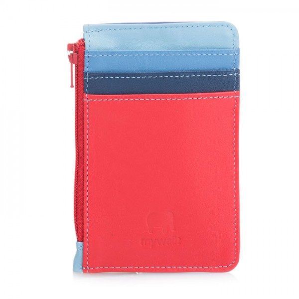 Credit Card Holder with Coin Purse Royal