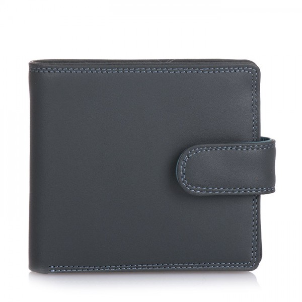 Tab Wallet w/inner leaf Smokey Grey