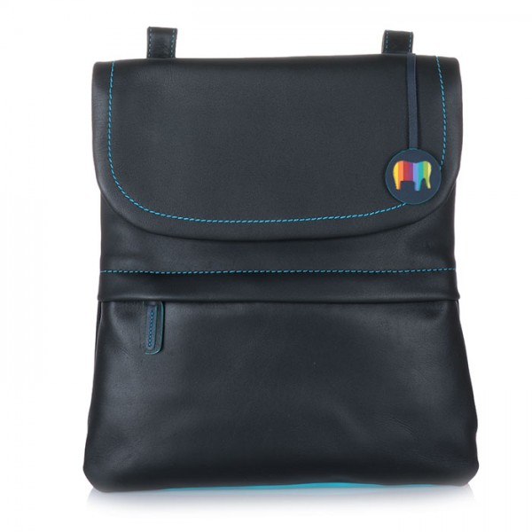 Kyoto Medium Backpack/Messenger Black Pace