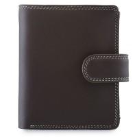 Tri-fold Tab Wallet Mocha