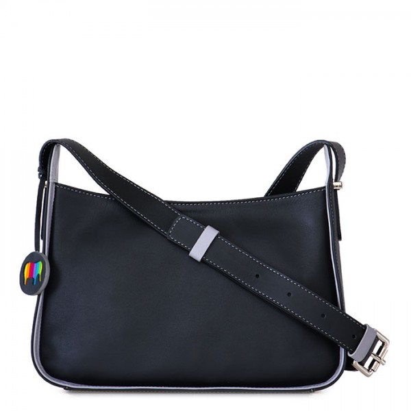Amarante Zip Top Crossbody Black