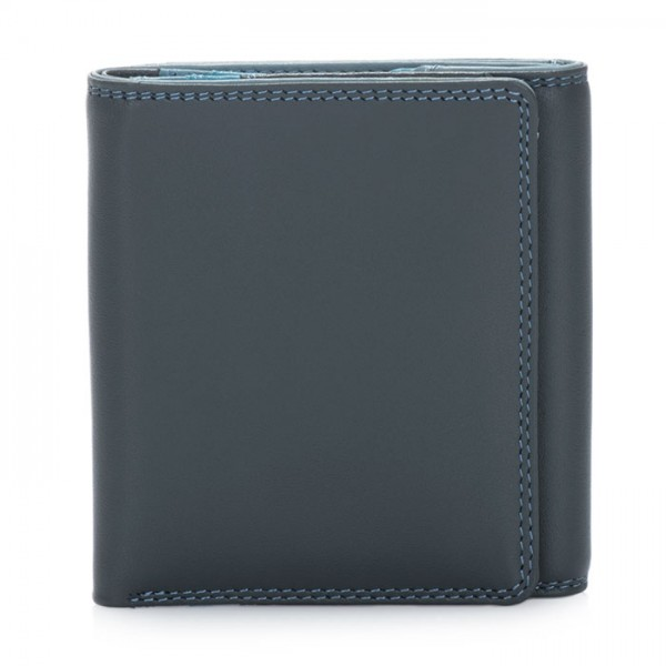Classic Wallet w/Coin Tray Smokey Grey