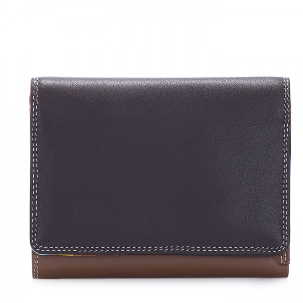 Medium Wallet w/Inner Leaf Mocha