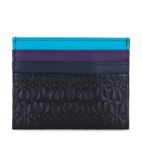 Elefante Double Sided Card Holder Black Pace
