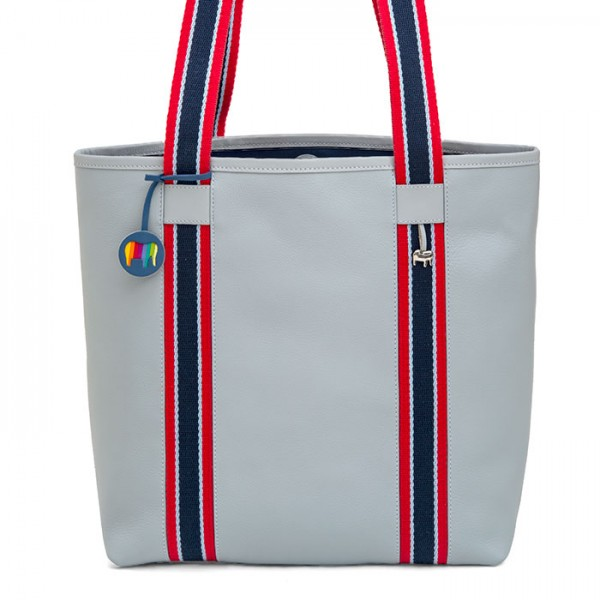 Borsa Shopper San Diego Grey