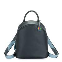 Riga Backpack Black Smokey Grey