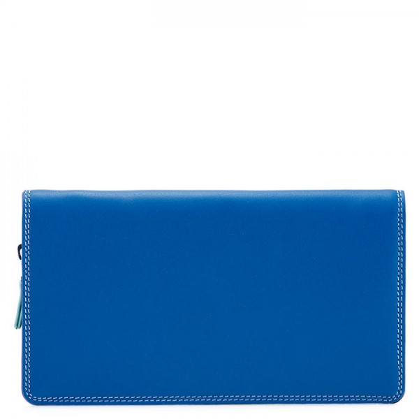 Large Wristlet Wallet Denim