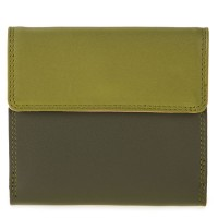 Tab and Flap Wallet Olive