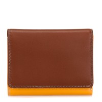 Medium Wallet w/Inner Leaf Siena