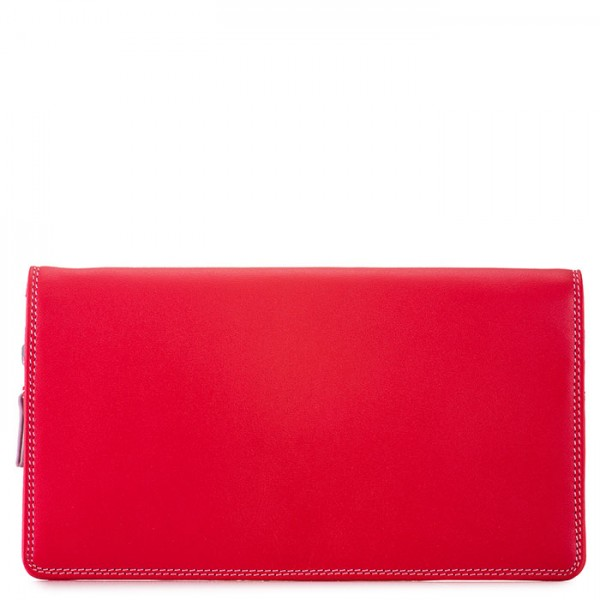 Large Wristlet Wallet Ruby
