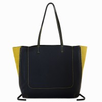 Icon Shopper Black-Yellow