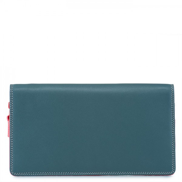 Large Wristlet Wallet Urban Sky