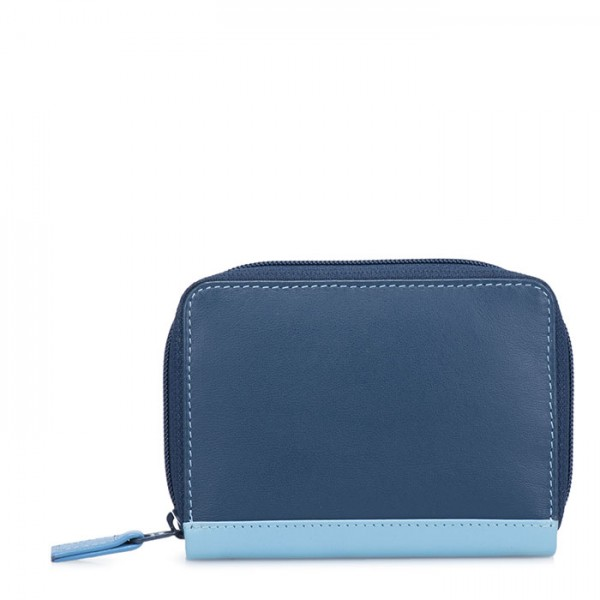 RFID Zipped Credit Card Holder Royal