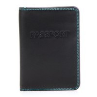 Passport Cover Black Pace