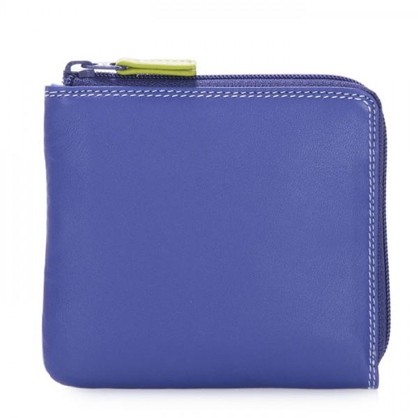Portafoglio con zip su tre lati piccolo Lavender
