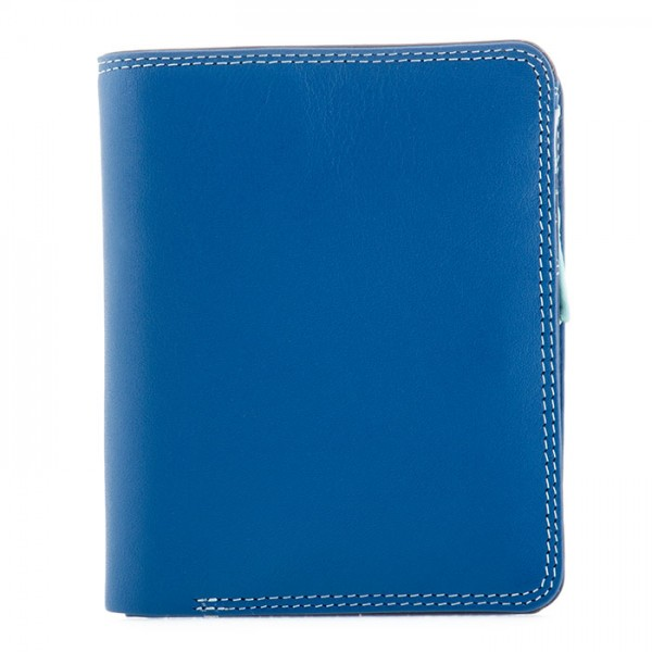 Medium Zip Wallet Denim